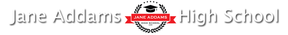 Jane Addams High School  Logo
